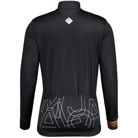Maloja KratzdistelM. 1/1 Long Sleeve Bike Jersey Men, negro